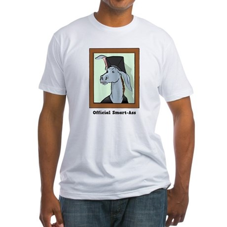 Official Smart Ass Fitted T-Shirt