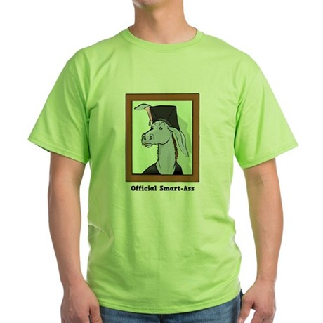 Official Smart Ass Green T-Shirt