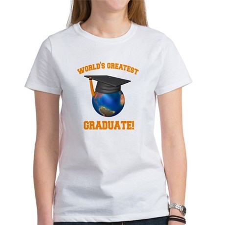 World's Greatest Graduate Women's T-Shirt