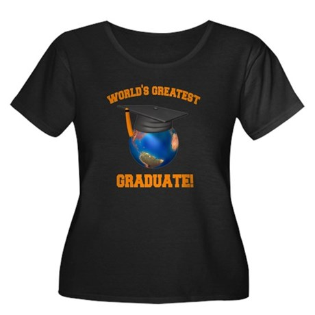 World's Greatest Graduate Women's Plus Size Scoop