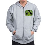 Baby Chicks in the Garden Zip Hoodie