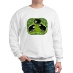 Baby Chicks in the Garden Sweatshirt