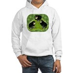 Baby Chicks in the Garden Hooded Sweatshirt