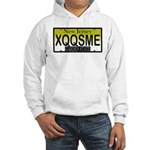 XQQSME NJ Vanity Plate Hooded Sweatshirt
