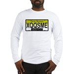 XQQSME NJ Vanity Plate Long Sleeve T-Shirt