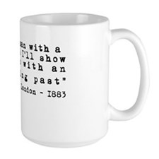 Jack London Tattoo Quote Mug