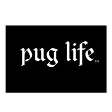 Pug Life Basic Postcards (Package of 8)