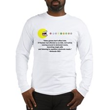 Video Games Don't Affect Kids Long Sleeve T-Shirt