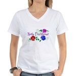 Nurse Practitioner III Women's V-Neck T-Shirt
