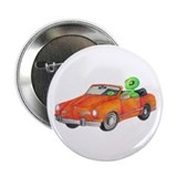 "Volkswagen Karmann Ghian 2.25"" Button (100 pa"