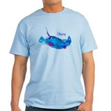 Stingray in Bold Colors T-Shirt