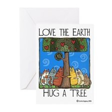 Tree-Huggers Greeting Cards (Pk of 10)