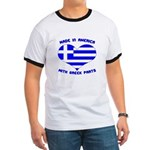 Made in America With Greek Parts Ringer T