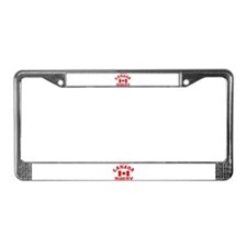 """""""Canada Rugby"""" License Plate Frame"""