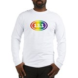 Rainbow Half Marathon Long Sleeve T-Shirt