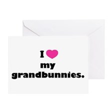 I love my grandbunnies. Greeting Card