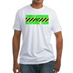 Zombie Outbreak Response Team Fitted T-Shirt