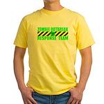 Zombie Outbreak Response Team Yellow T-Shirt