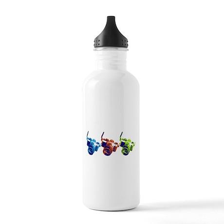 Pop Art Retro Camera Stainless Water Bottle 1.0L
