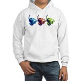 Pop Art Retro Camera Hoodie