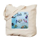 "The Book of Mermaids ""Let's Play"" Tote Bag"