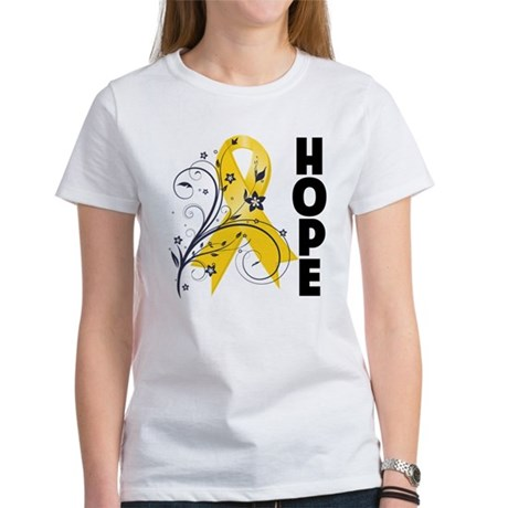 Hope Childhood Cancer Women's T-Shirt