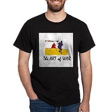 Racquetball War Black T-Shirt