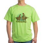 Cornish Chickens WLRed Green T-Shirt