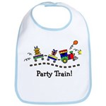 Party Train Bib