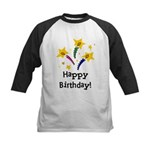 Birthday Candles Kids Baseball Jersey