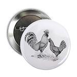 California Grey Chickens Button