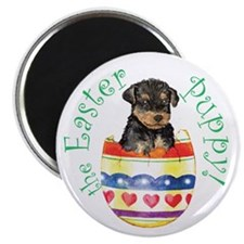 Easter Airedale Magnet