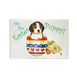 Easter Beagle Rectangle Magnet