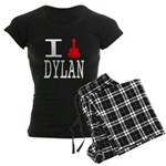 Listen To Dylan Women's Dark Pajamas