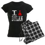 Listen To Dylan Women's Dark Pajamas