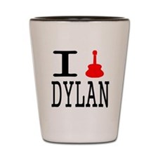 Listen To Dylan Shot Glass