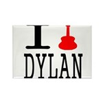 Listen To Dylan Rectangle Magnet (100 pack)