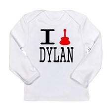Listen To Dylan Long Sleeve Infant T-Shirt