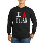 Listen To Dylan Long Sleeve Dark T-Shirt