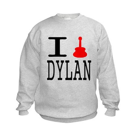 Listen To Dylan Kids Sweatshirt