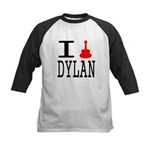 Listen To Dylan Kids Baseball Jersey