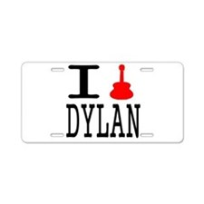 Listen To Dylan Aluminum License Plate