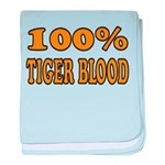 Tiger Blood baby blanket
