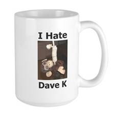 The Official I Hate Dave K Mug