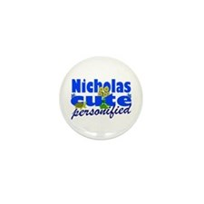 Cute Nicholas Mini Button (100 pack)