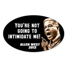 Allen West - Intimidate Decal