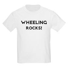 Wheeling Rocks! Kids T-Shirt