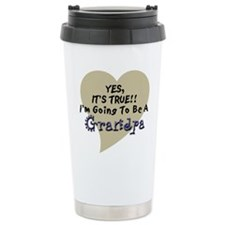 True Grandpa To Be Ceramic Travel Mug