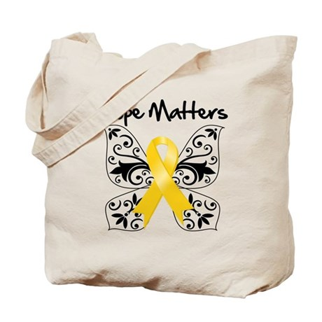 Hope Matters Child Cancer Tote Bag