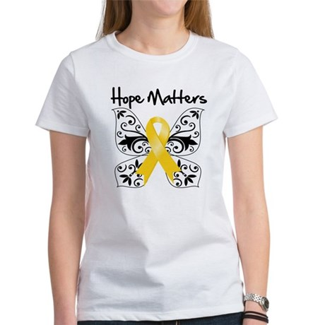 Hope Matters Child Cancer Women's T-Shirt